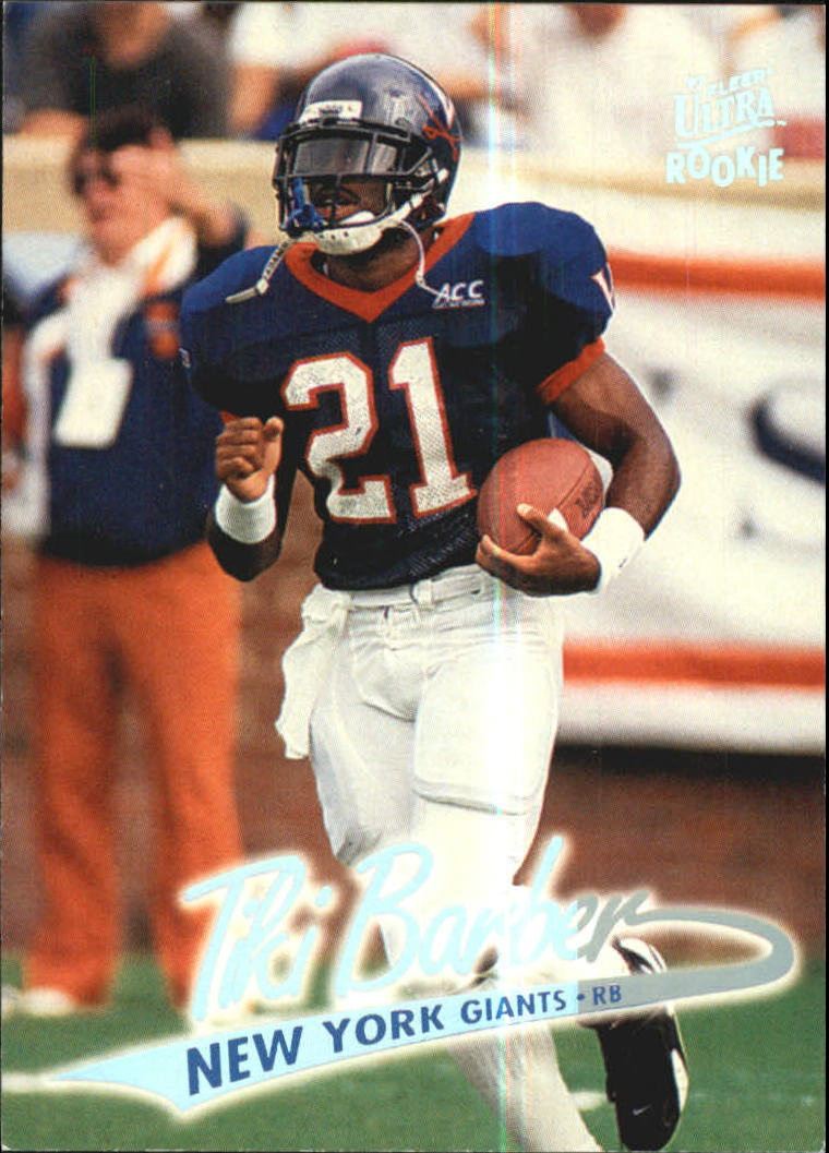 1997 Ultra #175 Tiki Barber RC
