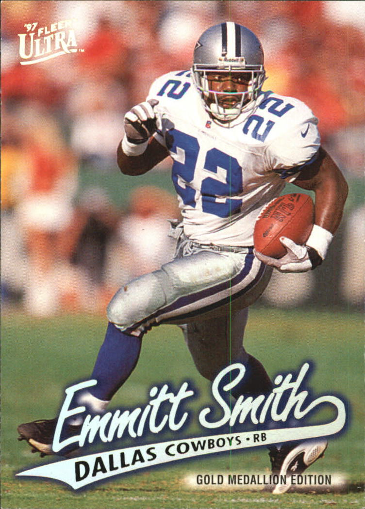 1997 Ultra Gold Medallion #54 Emmitt Smith