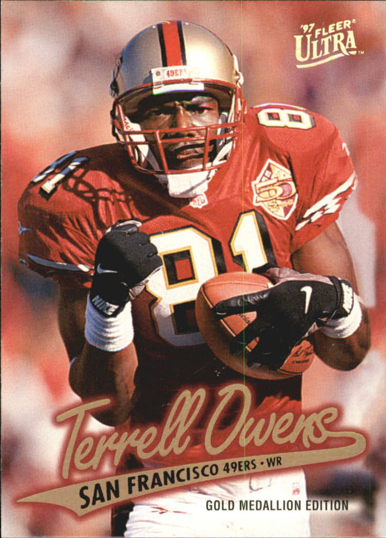 1997 Ultra Gold Medallion #56 Terrell Owens
