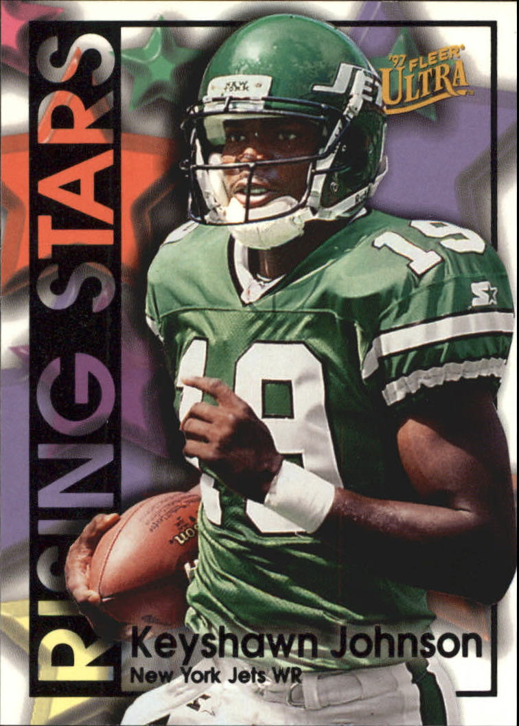 1997 Ultra Rising Stars #1 Keyshawn Johnson