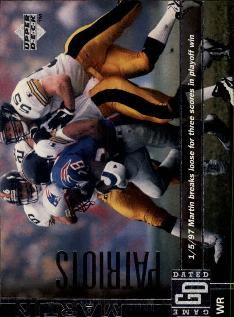 1997 Upper Deck #227 Curtis Martin