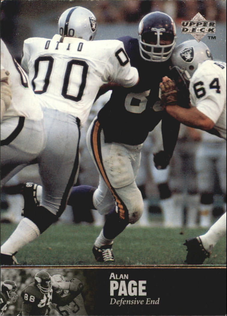 1997 Upper Deck Legends #58 Alan Page
