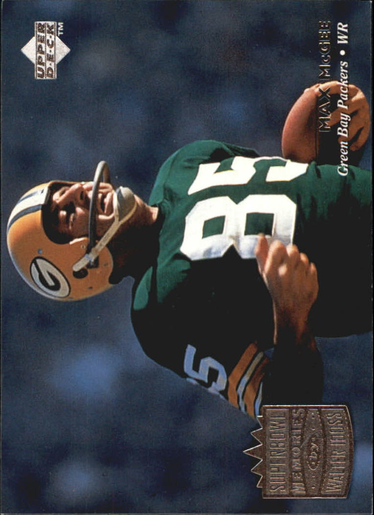 1997 Upper Deck Legends #181 Max McGee SM