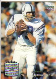 1997 Upper Deck Legends #183 Johnny Unitas SM