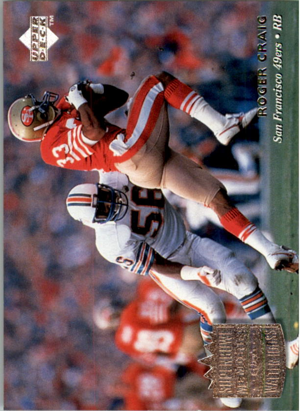 1997 Upper Deck Legends #202 Roger Craig SM