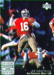 1997 Upper Deck Legends #207 Joe Montana SM
