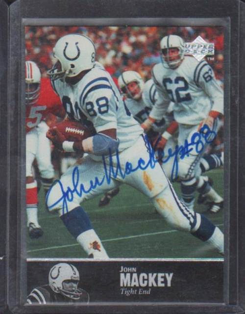 1997 Upper Deck Legends Autographs #AL48 John Mackey