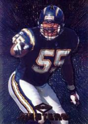 1997 Collector's Edge Masters Promos #PR3 Junior Seau