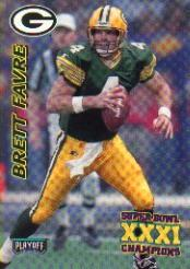 1997 Packers Playoff #7 Brett Favre