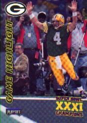 1997 Packers Playoff #44 Brett Favre