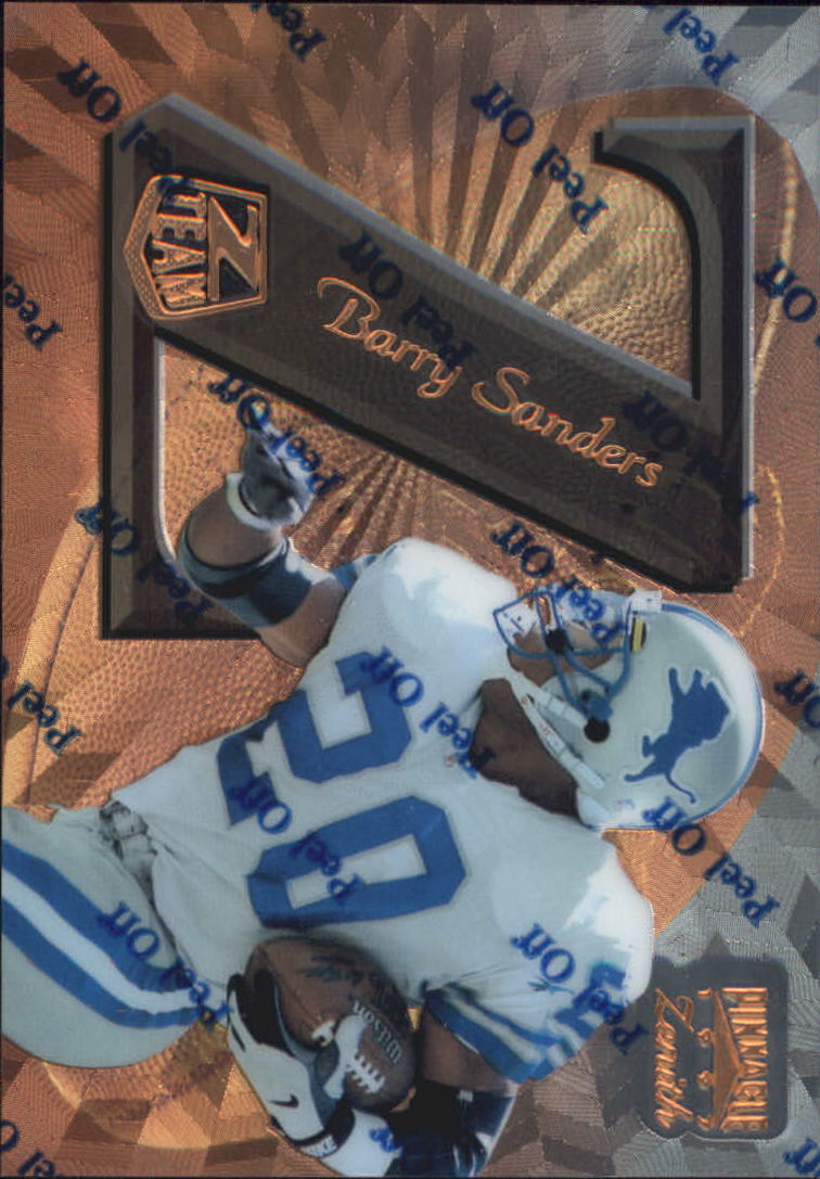 1997 Zenith Z-Team Promos #ZT14 Barry Sanders