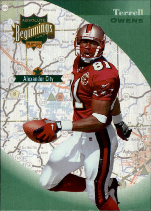 1997 Absolute #44 Terrell Owens