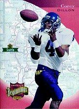 1997 Absolute #166 Corey Dillon RC