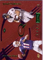 1997 Absolute Leather Quads #5 Harb/M.Jack./Bleds/J.And.