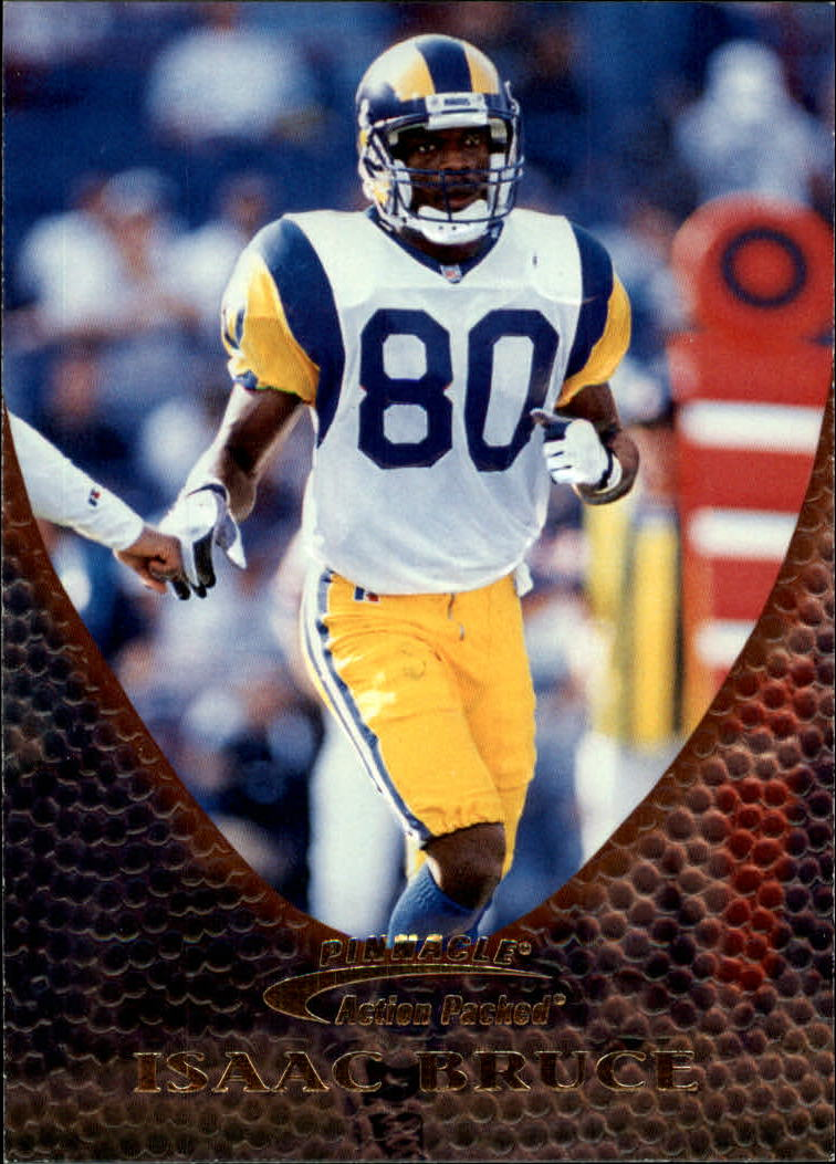 1997 Action Packed #13 Isaac Bruce