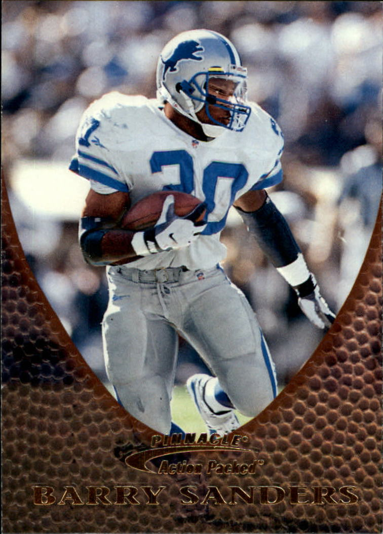 1997 Action Packed #16 Barry Sanders