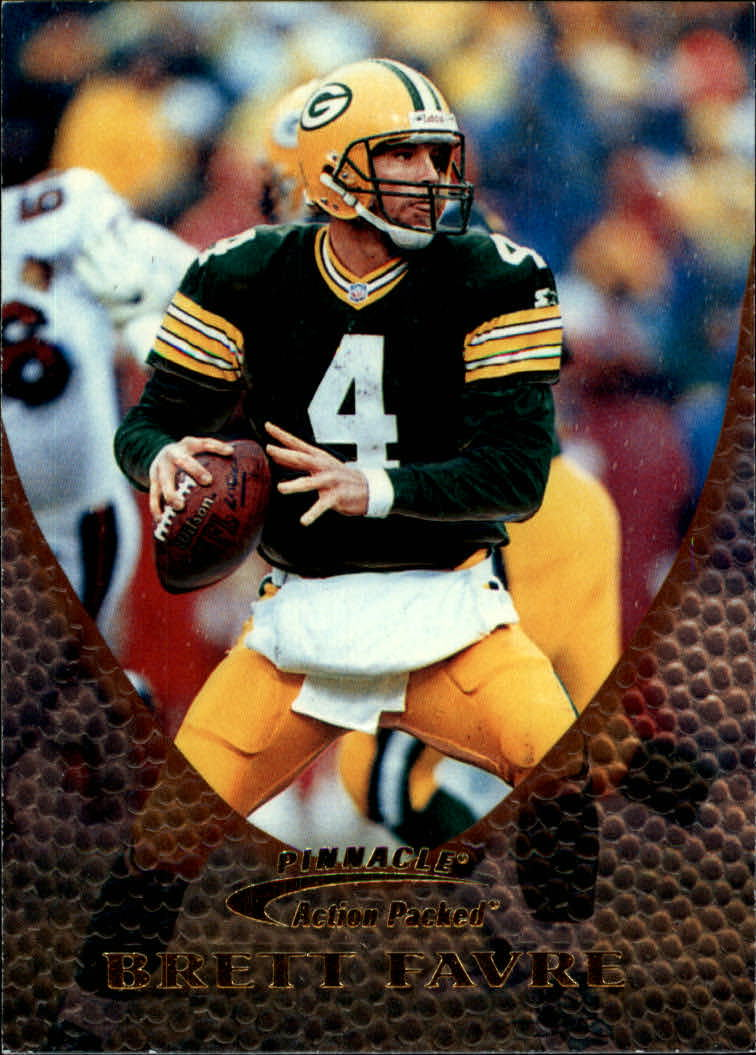 1997 Action Packed #17 Brett Favre