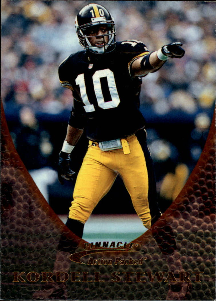 1997 Action Packed #28 Kordell Stewart