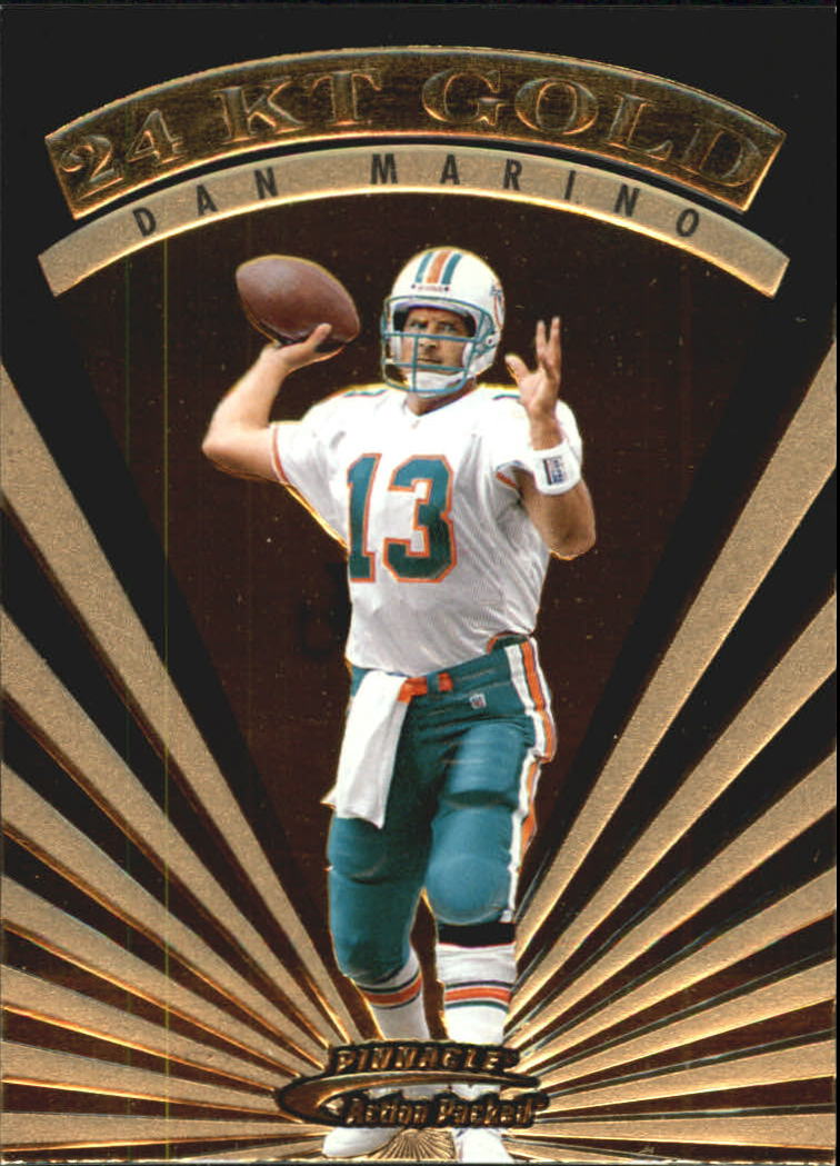 1997 Action Packed 24K Gold #7 Dan Marino