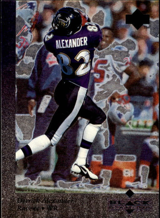 1997 Black Diamond #26 Derrick Alexander WR