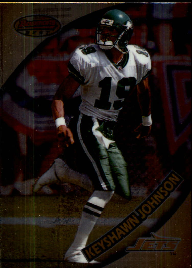 1997 Bowman's Best #7 Keyshawn Johnson