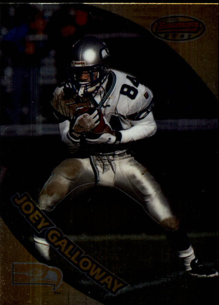 1997 Bowman's Best #25 Joey Galloway