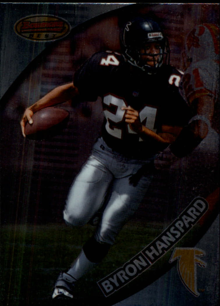1997 Bowman's Best #97 Byron Hanspard RC