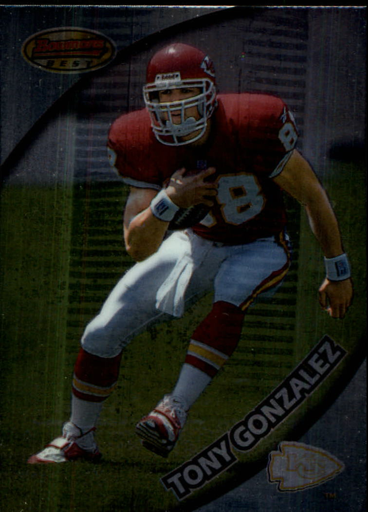 1997 Bowman's Best #101 Tony Gonzalez RC