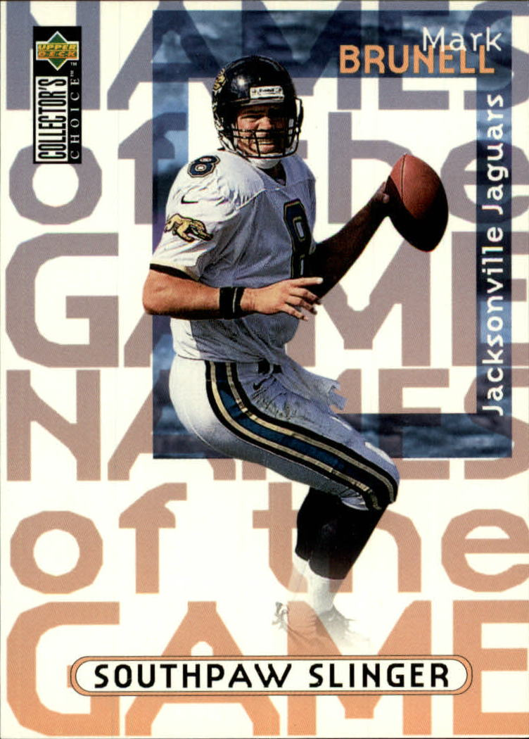 1997 Collector's Choice #64 Mark Brunell NG