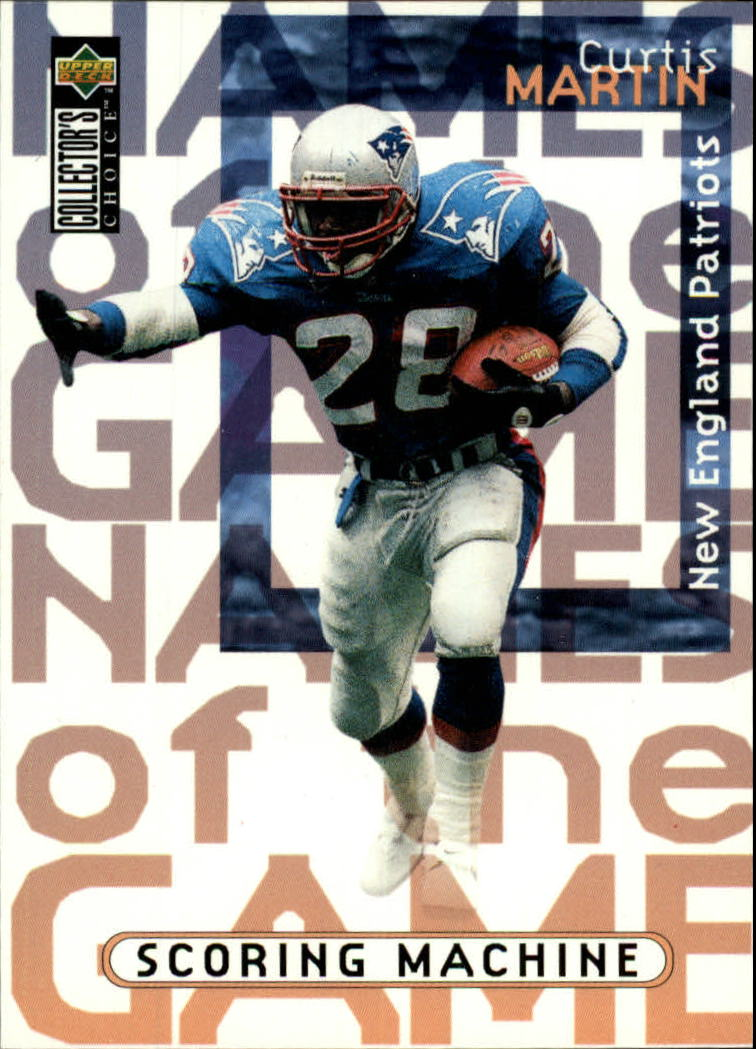1997 Collector's Choice #78 Curtis Martin NG
