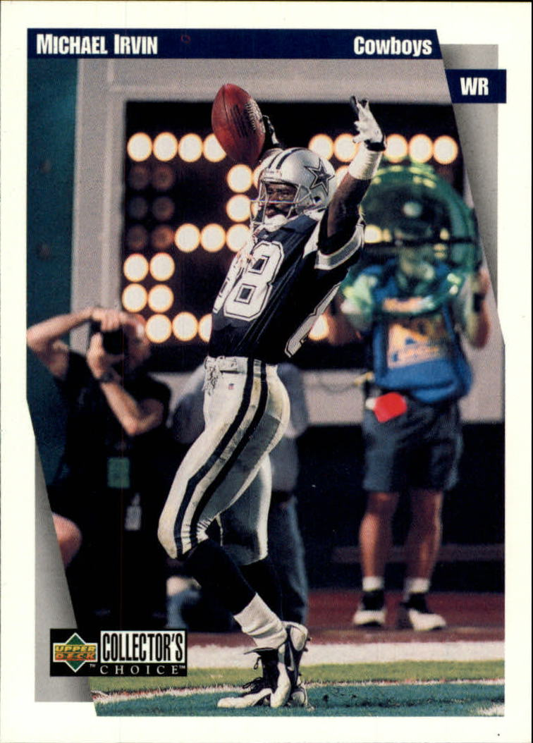 1997 Collector's Choice #160 Michael Irvin
