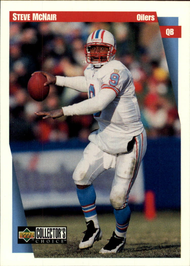 1997 Collector's Choice #213 Steve McNair front image