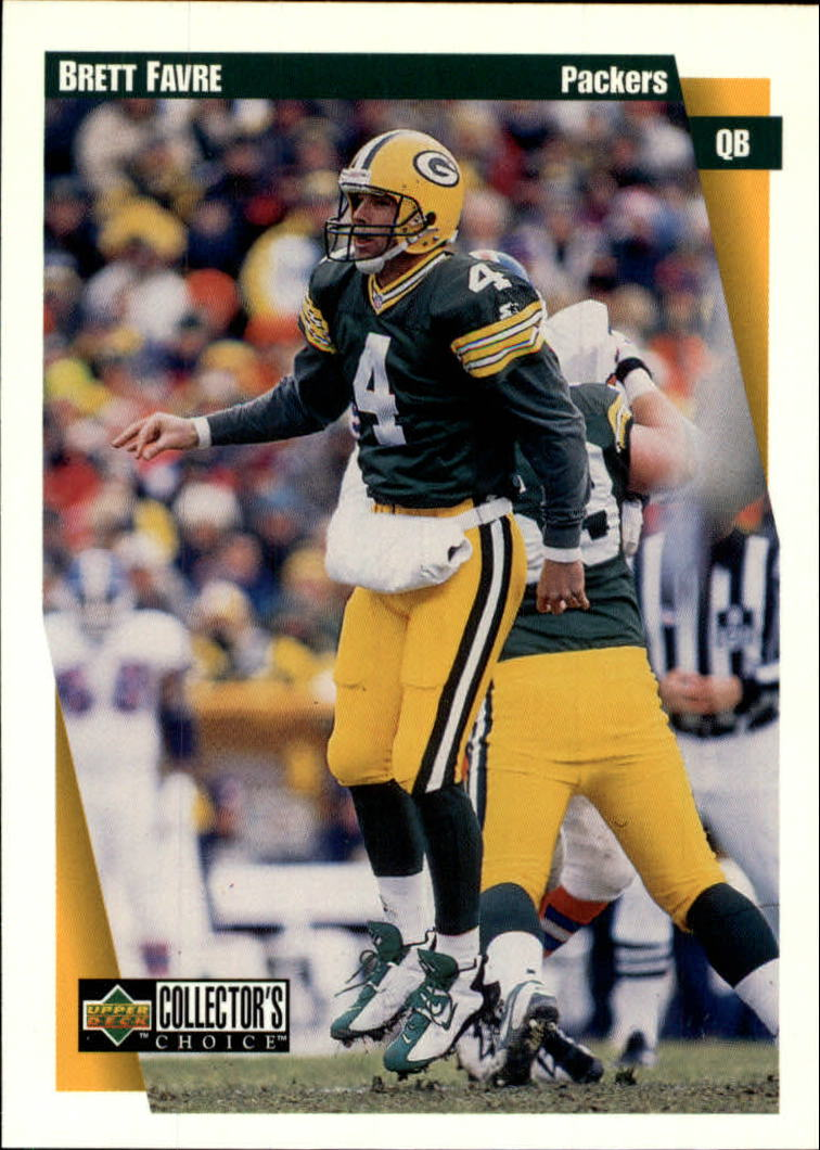 1997 Collector's Choice #224 Brett Favre