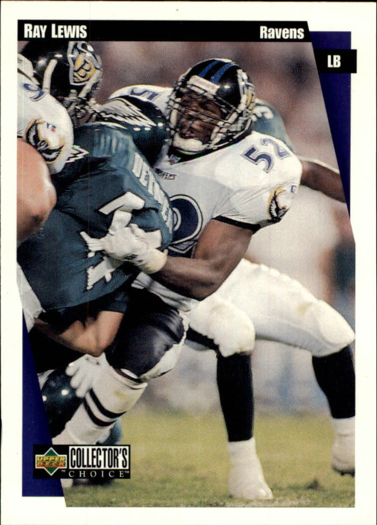 1997 Collector's Choice #261 Ray Lewis