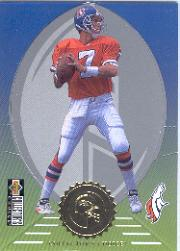 1997 Collector's Choice Mini-Standee #ST5 John Elway