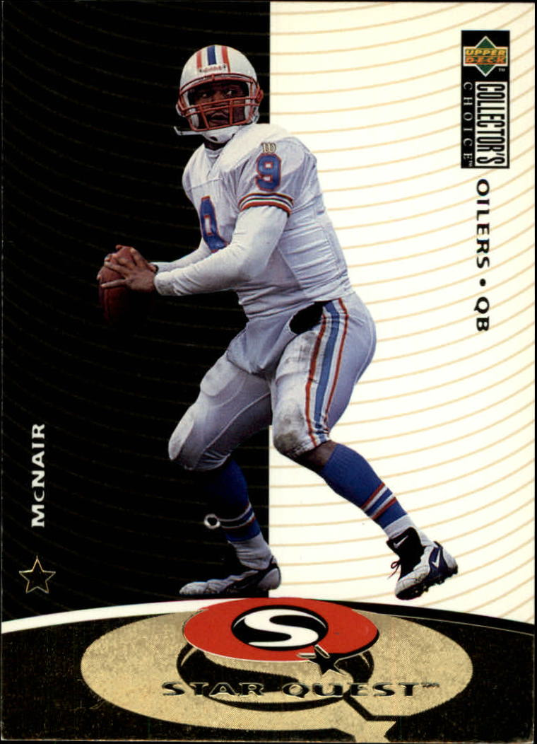 1997 Collector's Choice Star Quest #SQ12 Steve McNair