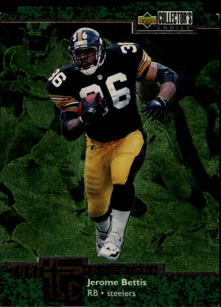 1997 Collector's Choice Turf Champions #TC76 Jerome Bettis