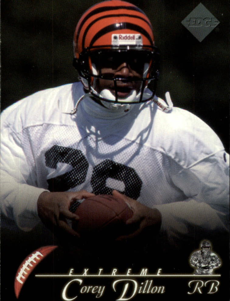 1997 Collector's Edge Extreme #37 Corey Dillon RC