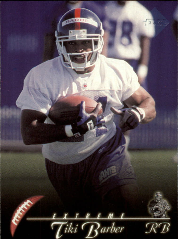 1997 Collector's Edge Extreme #112 Tiki Barber RC