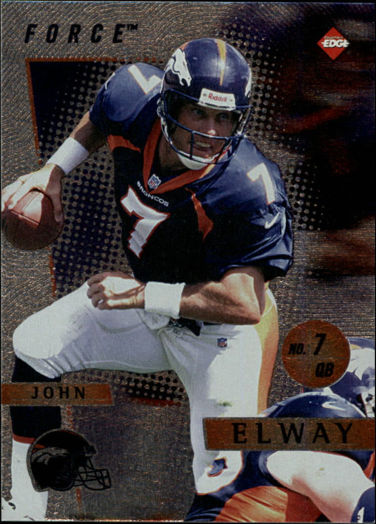 1997 Collector's Edge Extreme Force #13 John Elway