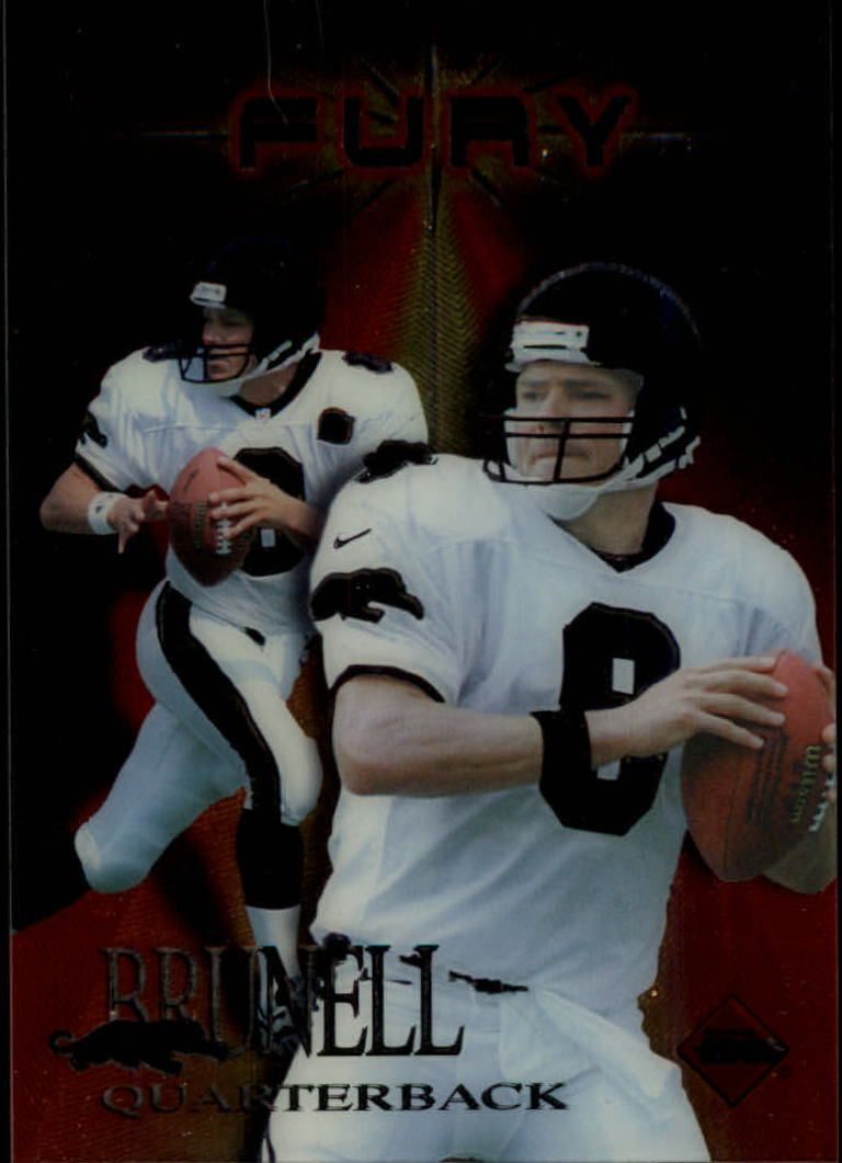1997 Collector's Edge Extreme Fury #4 Mark Brunell