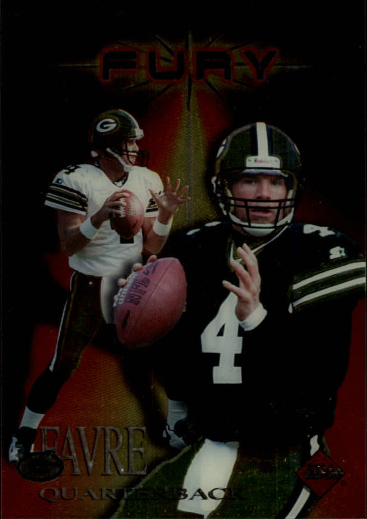1997 Collector's Edge Extreme Fury #8 Brett Favre