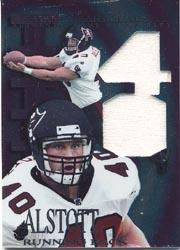 1997 Collector's Edge Extreme Game Gear Quads #2J Mike Alstott JSY