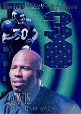 1997 Collector's Edge Extreme Game Gear Quads #7J Terrell Davis JSY