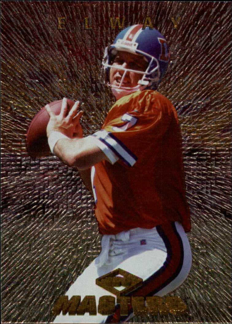 1997 Collector's Edge Masters #76 John Elway