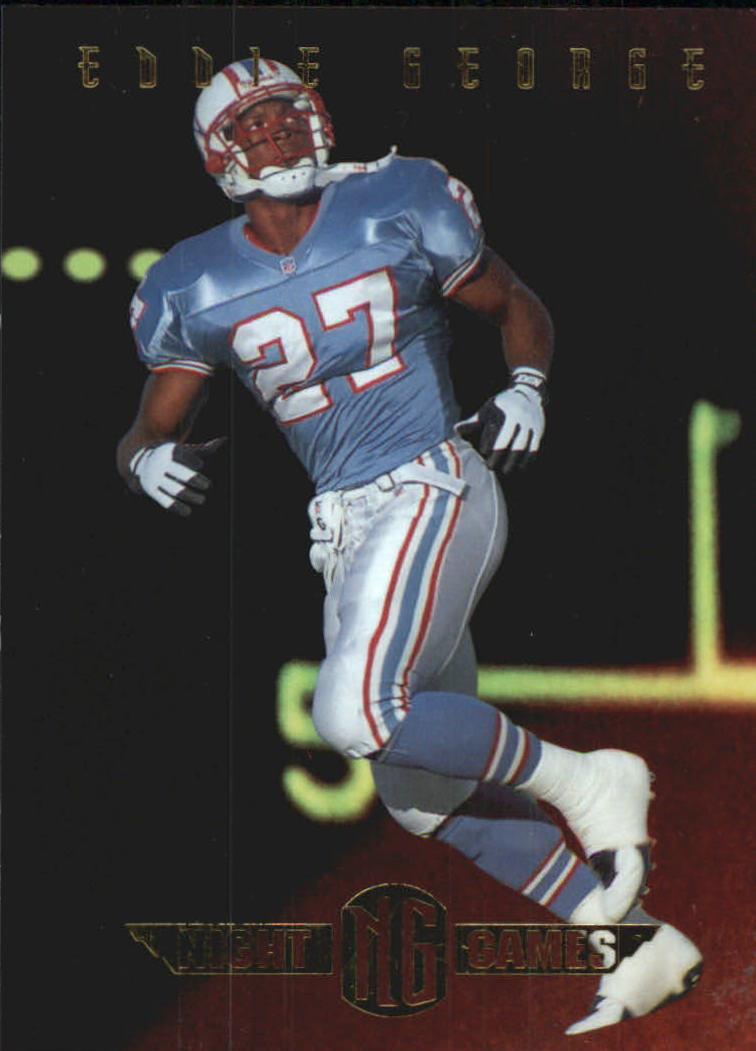 1997 Collector's Edge Masters Night Games #2 Eddie George