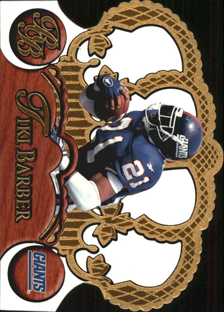 1997 Crown Royale #87 Tiki Barber RC