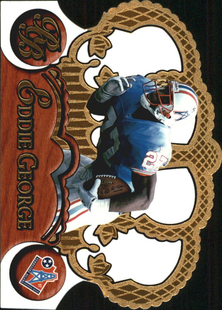 1997 Crown Royale #136 Eddie George