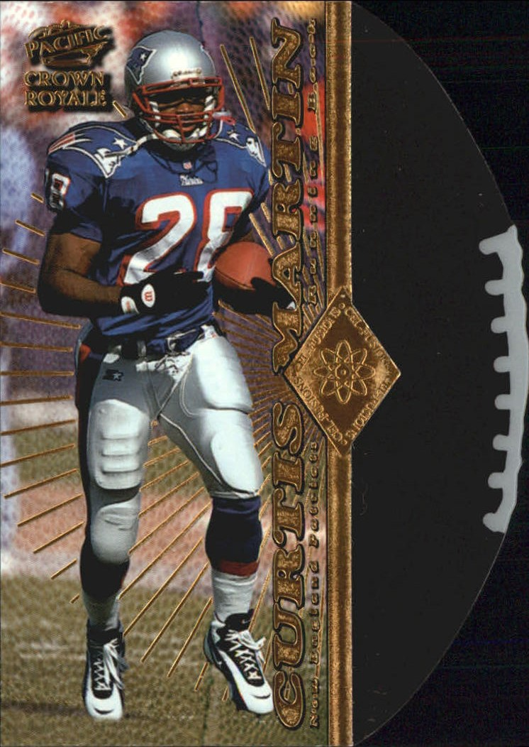 1997 Crown Royale Cel-Fusion #13 Curtis Martin