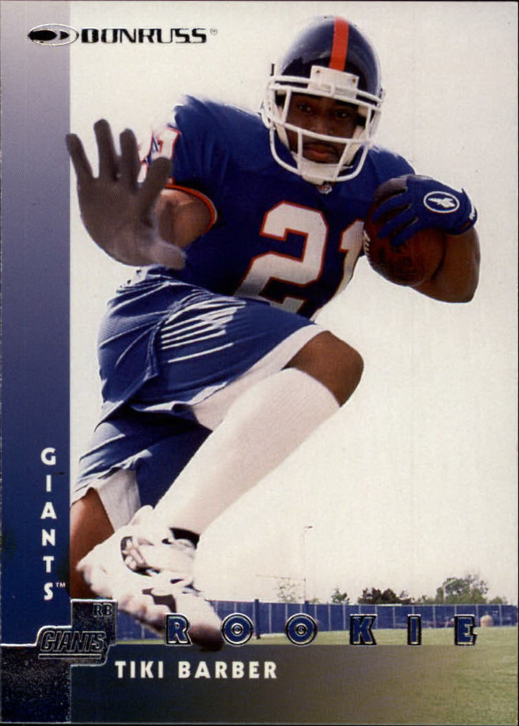 1997 Donruss #205 Tiki Barber RC